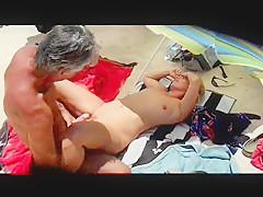 Wife fuck stranger on beach