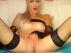 Blonde Soffiya and double penetration
