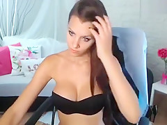 01Amiana plays with sex toy in chair