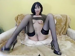 Milf EDERA79 took off her panties and shows pussy
