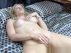 Hottest Amateur clip with Blonde, Shaved scenes