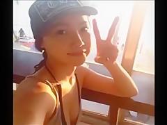 very pretty ex Korean gf video leaked