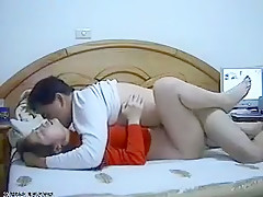 Chinese couple homemade