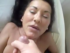 Zwei herrliche Orgasmen - viel Sperma!