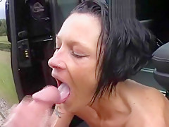 Neuster Outdoor-Blowjob