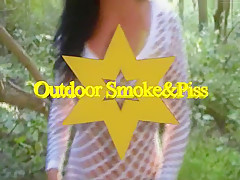 Outdoor Piss and Smoke