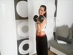 Mein Fitnesstrainer gibt mir Nachhilfe