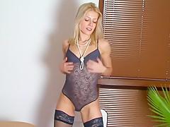 Mein neuer Sexy String Body
