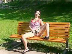 Mit Claudi im Park