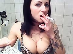 Adventsturchen Nr.1 - Rauchen unten ohne in Kniestrumpfen