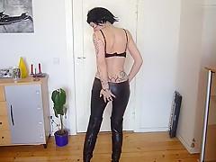 Neue Lederhose