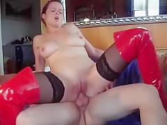 High Heels, Anal und Sperma schlucken