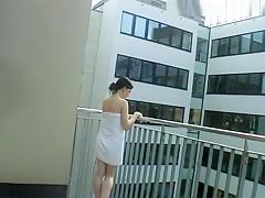 Nackt fur den Nachbarn