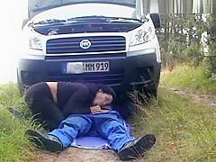 Mechaniker gefickt