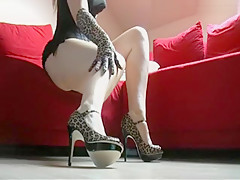 Dirty Talk - Cum on my High Heels