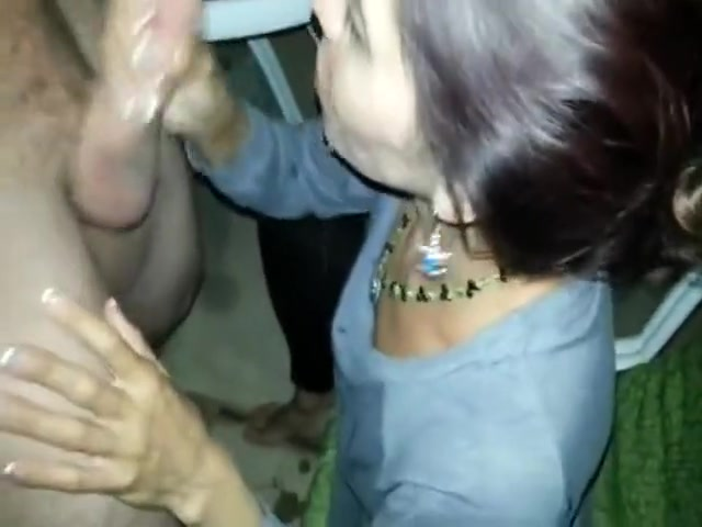 Brunette Indian girl enjoys cock sucking dick