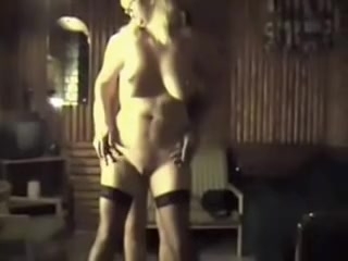 wife dancing naked with a friend