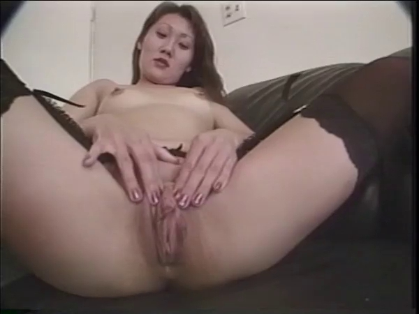 Korean Cutie plays with her Cunt b4 a Facial