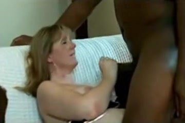 Aged White English mature Gratified in Interracial Sex by BBC