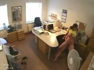 Secretary Screwed By Boss And Taped On mystic Camera