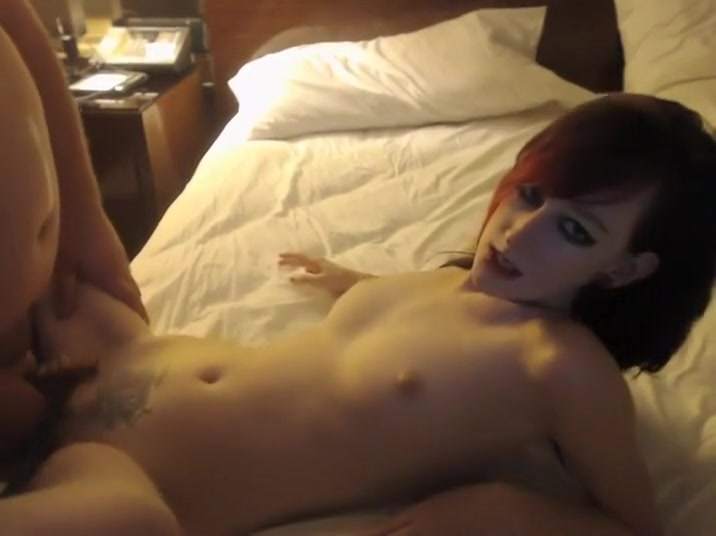 Emo Girl Fucked On The Bed