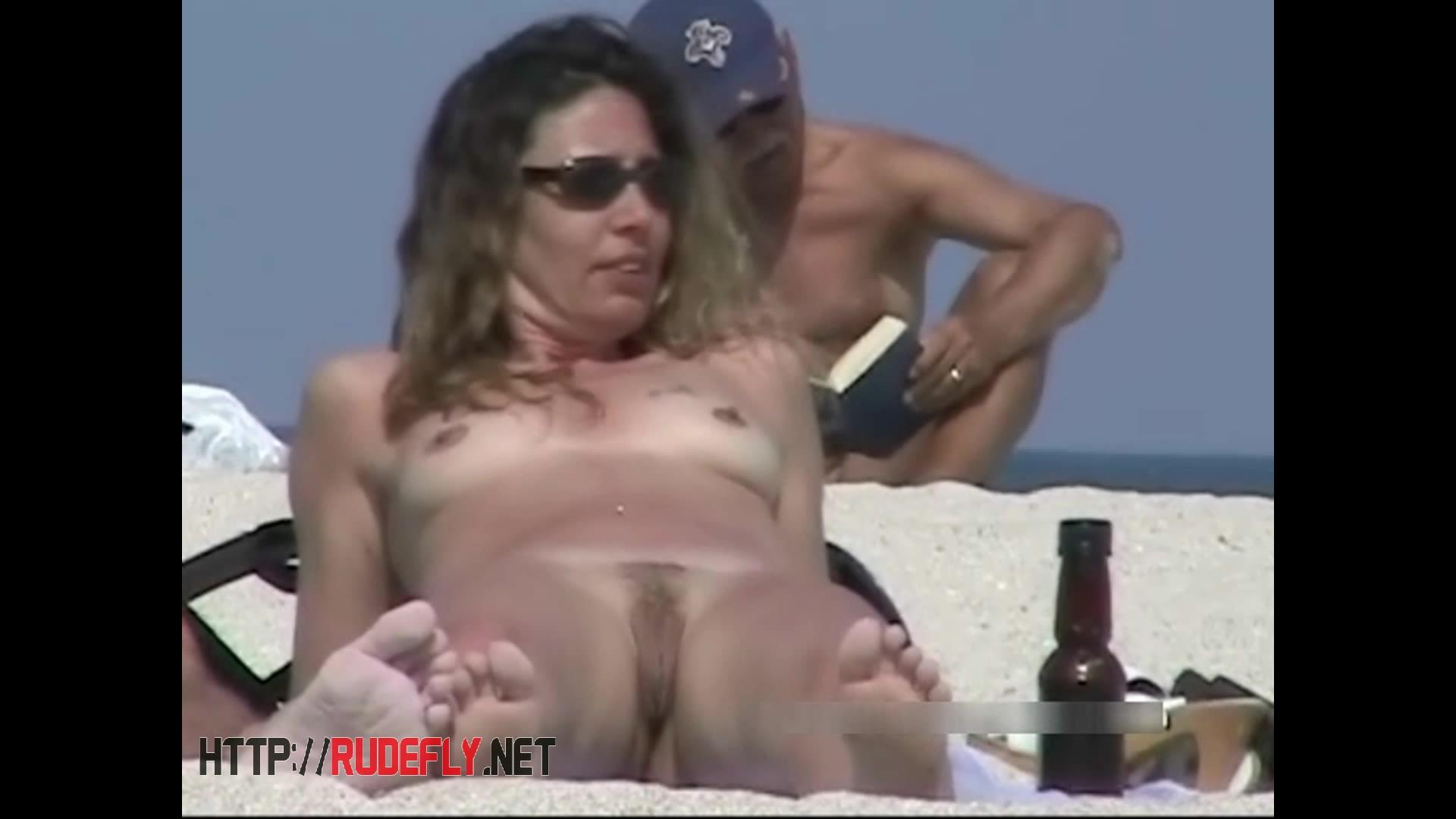 Splendid nude beach voyeur spy cam video 2