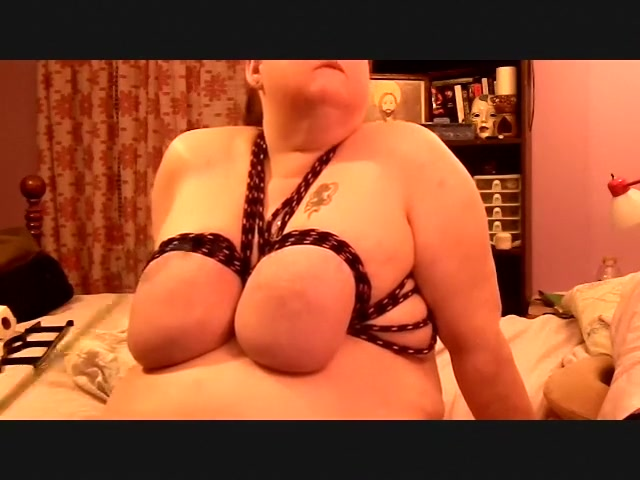 You female bondage tits tied spanked for that