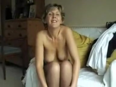 Someone's mature shows us her tits