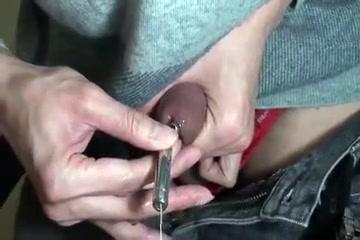 Wearing urethral chastity part 1