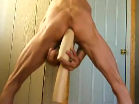 Double Anal Huge Dildo Fuck and Fist