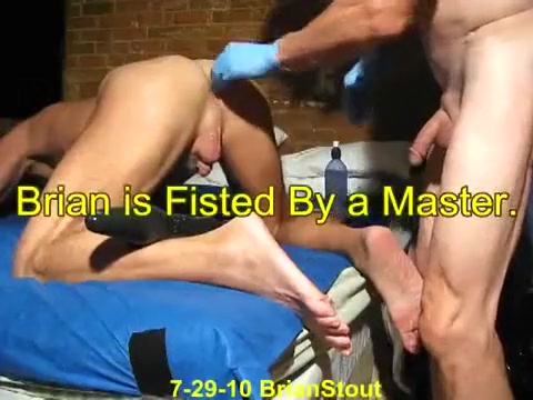 Brian is Fisted By a Master