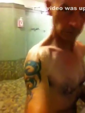Showering again at the Gym Gang public locker room Shower