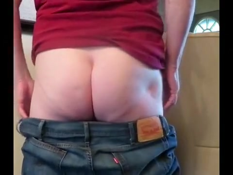 Jeans to bare butt IIi
