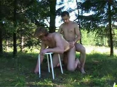 Forest gay anal sex with naked guys