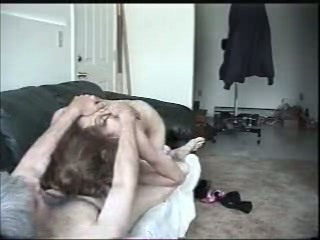 Blowjob on Couch
