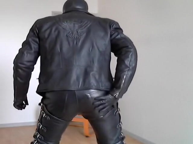 chaps leather cigar rubber mask