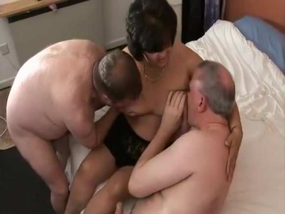 trio with 2 straight chubs and 1 milf