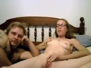 Hot Chap Masturbating Her Hard